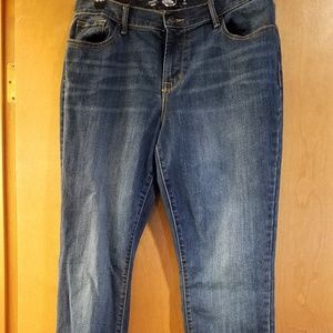 Old Navy Womens Jean's Size 8 Long Straight
